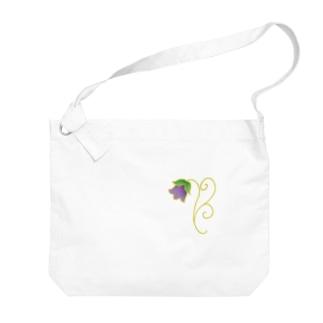 花釣り鐘 Big shoulder bags