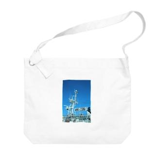 gyo-sen Big shoulder bags