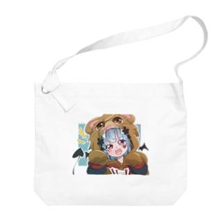パーカー女子 Big shoulder bags