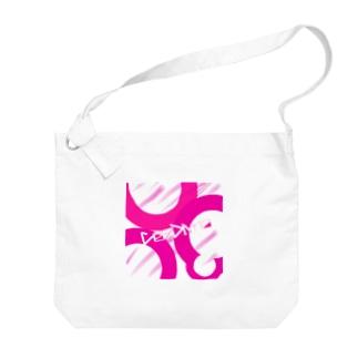 Co- Divno オリジナルグッズ Big shoulder bags