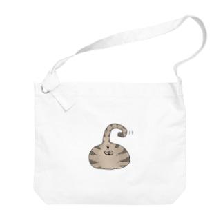 猫尻 Big shoulder bags