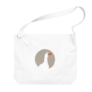 アヒルちゃん Big shoulder bags