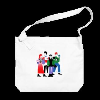 全員全身 Big shoulder bags