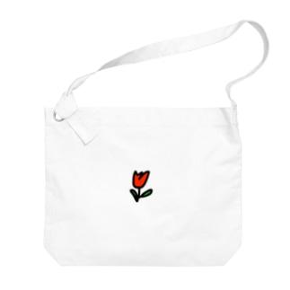 チューリップ Big shoulder bags