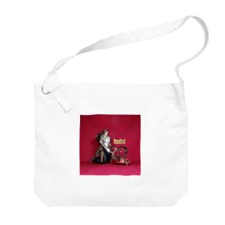 ドール写真:日時計を見る栗色の髪のガンファイター Doll picture: Sundial & girl Big shoulder bags