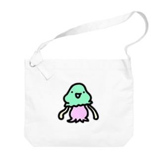 謎の宇宙人コペトン Big shoulder bags