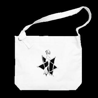 ヌクレオチド(半角)のかわいいふく Big shoulder bags