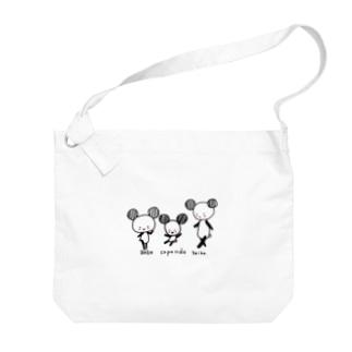 コパンダ Big shoulder bags