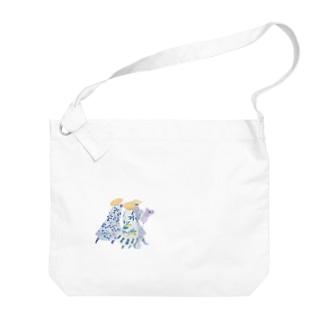 misuzuoyamaの三人組 Big Shoulder Bag