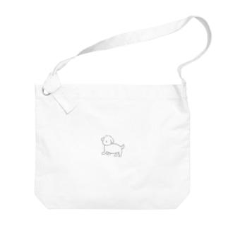 もふこ Big shoulder bags