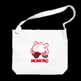 よシまるシンのMOMORO(WHITE) Big shoulder bags