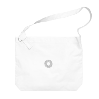 円周率の円 Big shoulder bags