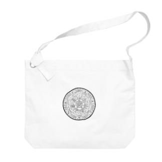 魔法陣のアレ Big shoulder bags