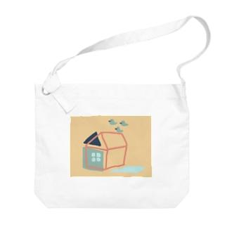 レトロハウス Big shoulder bags