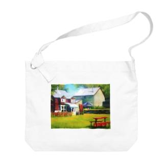 Restaurant Big shoulder bags