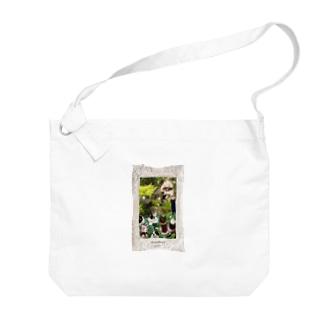 猫ポックルのおうち Big shoulder bags