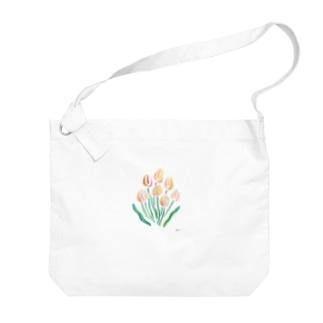 tulip Big shoulder bags