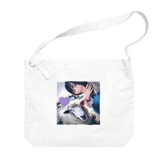メェメェ Big shoulder bags