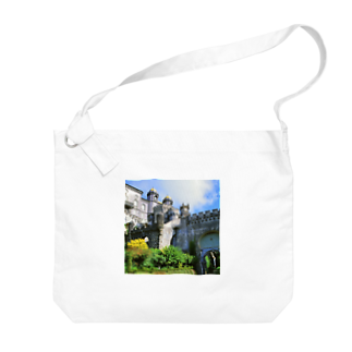 FUCHSGOLDのポルトガル:ぺーナ宮殿の風景写真 Portugal: Palácio Nacional da Pena / Sintra Big shoulder bags