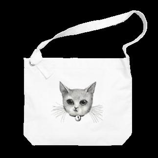 ArtSpringsのThe face Big shoulder bags