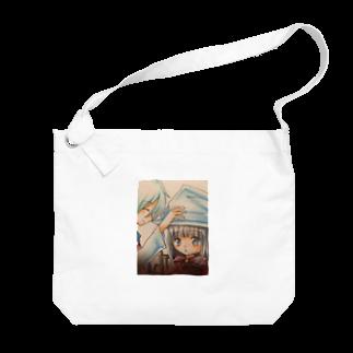 asahiyoruaの先生と魔女 Big shoulder bags