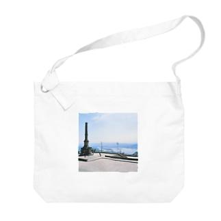 ポルトガル:ヴィアナ・ド・カステロの風景写真 Portugal: Rio Lima / Viana do Castelo Big shoulder bags