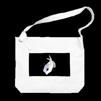 ElkRueのHand Sign_Rabbit Big shoulder bags