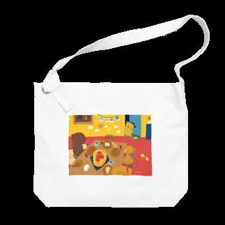 fumika/クリマ日曜M-174のおはよう Big shoulder bags