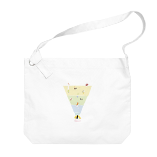 jtyxのThe food chain of sushi Big shoulder bags
