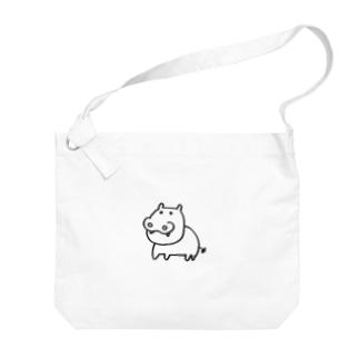 カバお Big Shoulder Bag