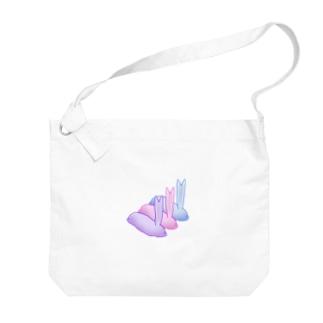 エボシナマコさん Big shoulder bags