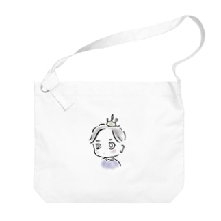 ちびのぶシリーズ B Big shoulder bags