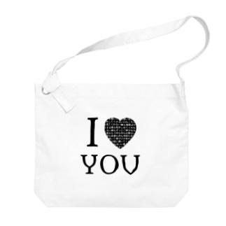 I【♡?】YOU Big shoulder bags