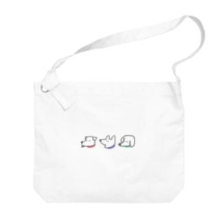 わんちゃん Big shoulder bags