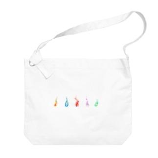 いのちのほのおコレクション Big shoulder bags