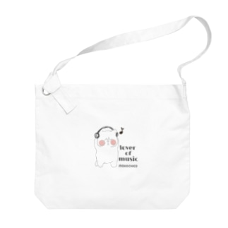 lover of music ブサネコさん Big shoulder bags