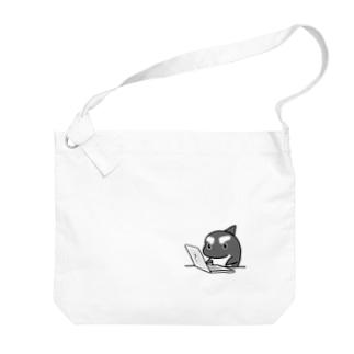 #シャチくん 仕事ちう Big shoulder bags