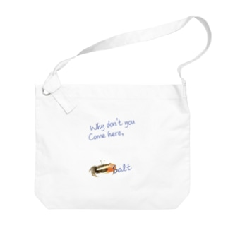 シオマネキ Big shoulder bags