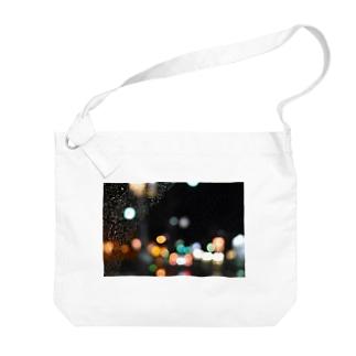 夜 Big shoulder bags