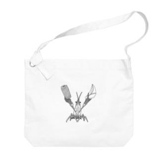 協文字 「Y」 Big shoulder bags