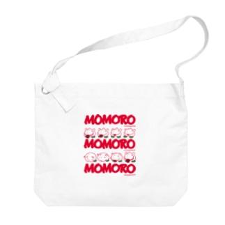 MOMOROS(WHITE) Big shoulder bags