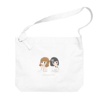 褒める女の子のバッグ Big shoulder bags