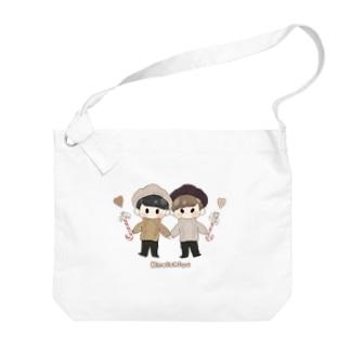 しほ(`・З・´)のかみしげ Big shoulder bags