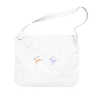 つぶやきXMLダブル Big Shoulder Bag
