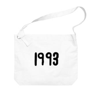 1993黒 Big Shoulder Bag