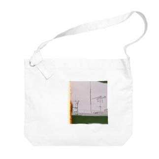 不鮮明な Big shoulder bags