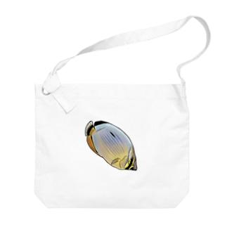 メロンバタフライフィッシュ Big shoulder bags
