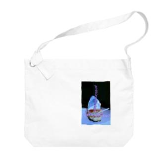 (新)あの子の残したプリン Big shoulder bags