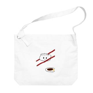 餃子の赤ちゃん Big shoulder bags