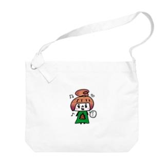 うんこちゃん Big shoulder bags